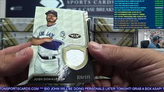 Quad Case Break #2 2018 Topps Tier One Baseball - Tiered Teams