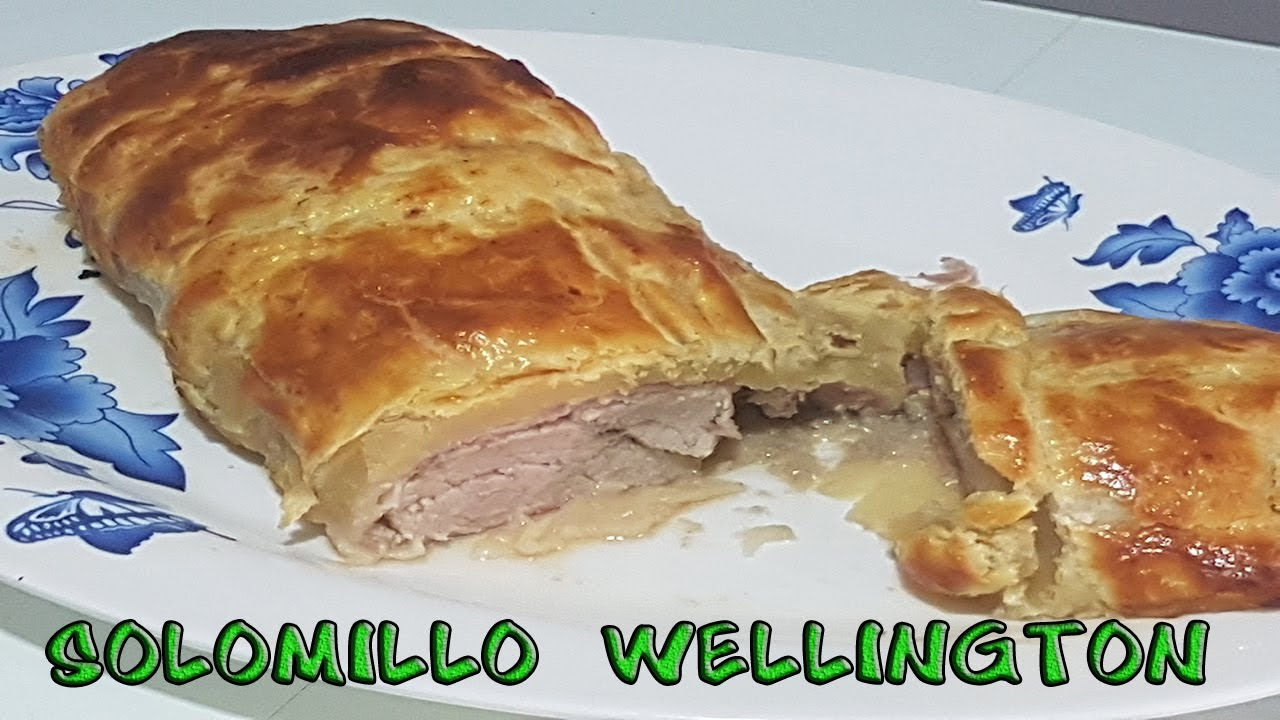 Como hacer solomillo wellington youtube for Como preparar solomillo