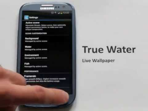 True Water - Amazing!! Live Wallpaper for Android