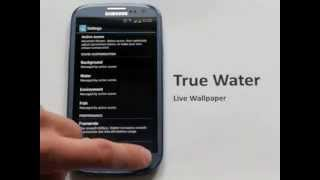 True Water Live Wallpaper