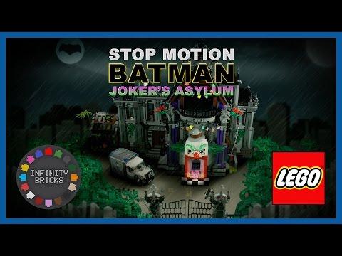 LEGO Batman Movie Joker's Asylum Stop Motion