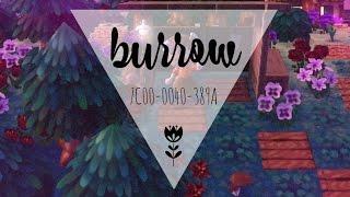 AC:NL Dream Town Tour: Burrow