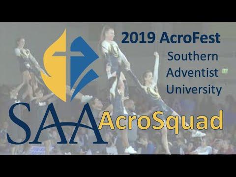 2019 Spencerville Adventist Academy #AcroSquad AcroFest Performance