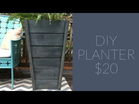 How to Build an Outdoor Planter Box | $20 Lumber