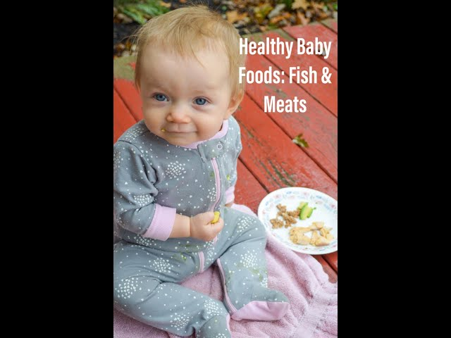 Part 5: Healthy First Baby Foods, Fish & Meats