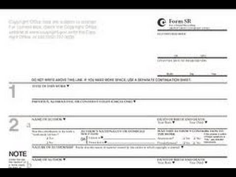 HOW TO FILL OUT A COPYRIGHT FORM - Tutorial for Songwriters, Musicians, Music Producers