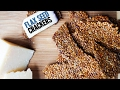 Simple Keto Crackers   1 Ingredient Flax Seed Crackers   Easy Keto Recipes
