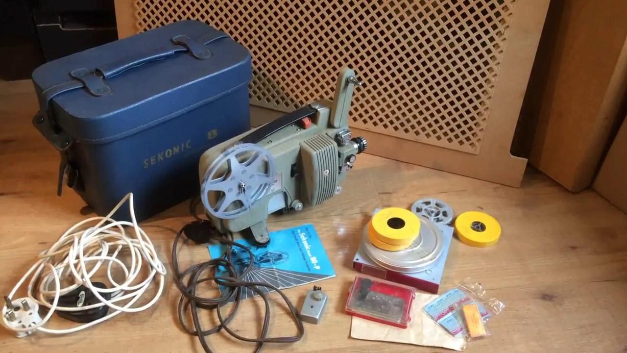 Vintage 1960's Sekonic 8mm Cine Film Projector & leather Case For sale on  Ebay UK