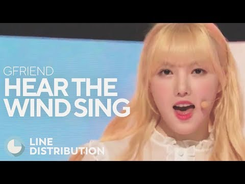 GFRIEND - Hear the Wind Sing (Line Distribution)
