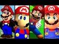Super Mario Evolution of MARIO'S VOICE 1