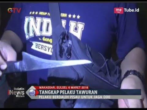 Bawa Senjata Tajam Untuk Tawuran, 5 Remaja Asal Sulawesi Dibekuk