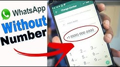 How to Use WHATSAPP Without NUMBER   WHATSAPP Tricks - 2018