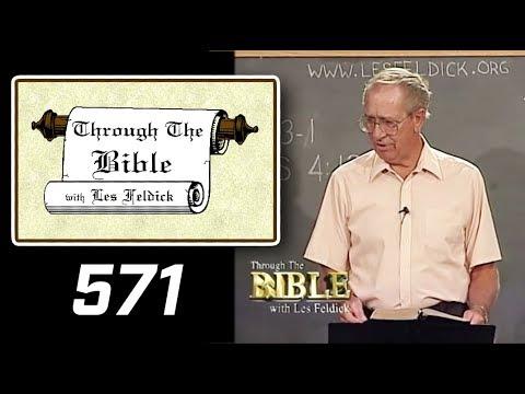 [ 571 ] Les Feldick [ Book 48 - Lesson 2 - Part 3 ] Hebrews 4:1-11  a