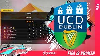 FIFA IS BROKEN!! #5 - FIFA 20 UCD AFC CAREER MODE