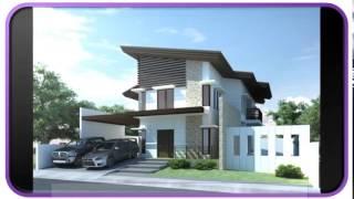 New Blue Modern Houses Design