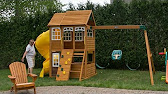2014 cedar summit mount forest lodge playset from costco youtube 410 publicscrutiny Image collections