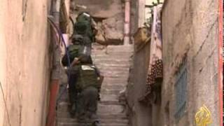 اقتحام  قوات الاحتلال الاسرائيلي باحات الحرم القدسي