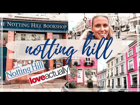 NOTTING HILL FILM LOCATIONS | Mews Houses | Portobello Road | Love Actually & More