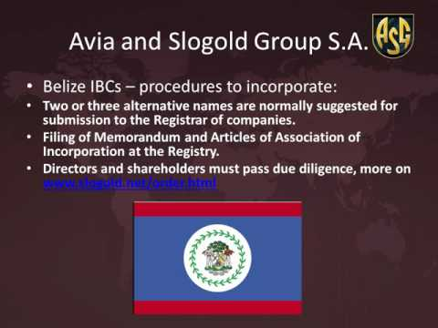 Belize  offshore companies by slogold