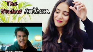 The Student Anthem | Ashish Chanchlani | Raftaar | Shaikhspeare | reaction by Illumi Girl
