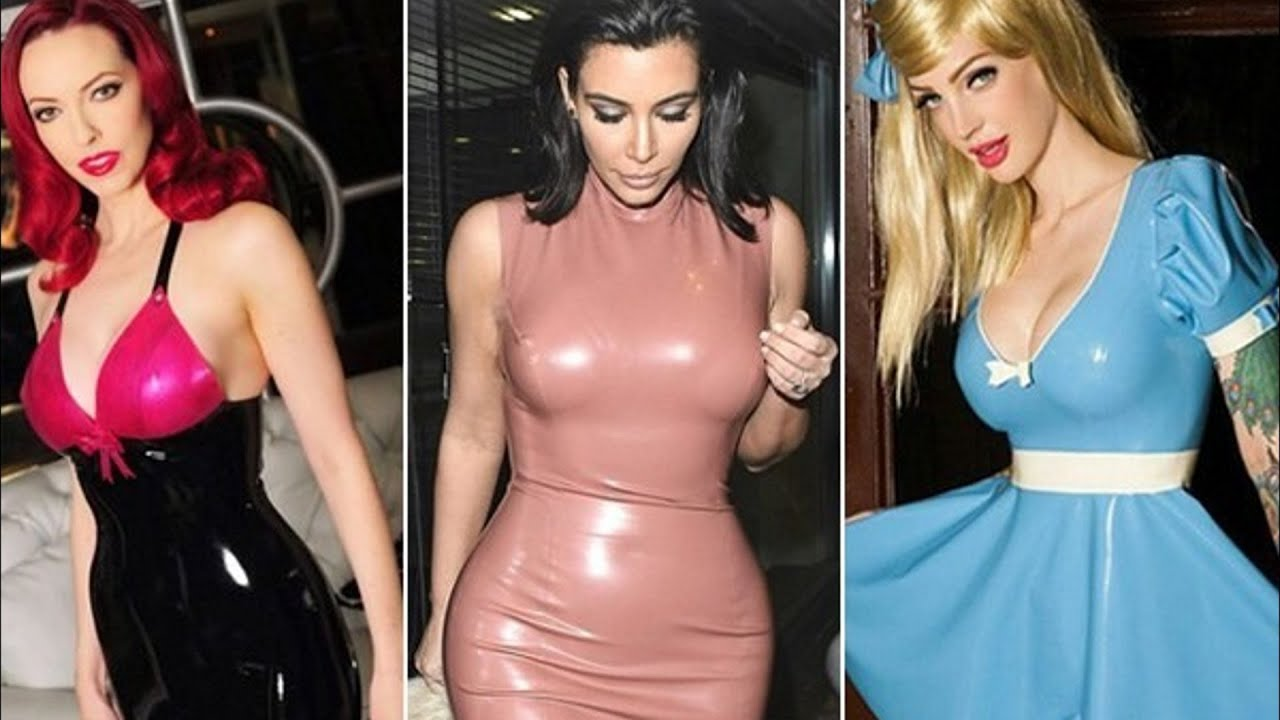 You tube latex dress