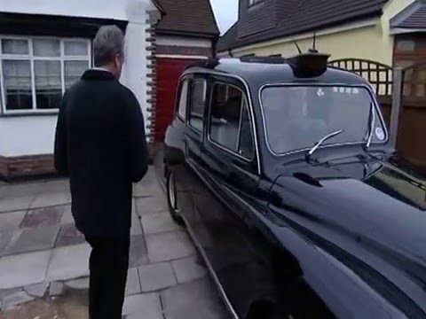 V8 London taxi