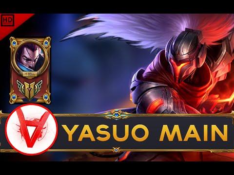ARKADATA YASUO MAIN Compilation | 1MILLION MASTERY POINTS - league of legends
