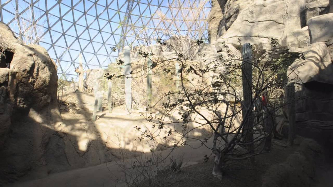 World S Largest Glazed Geodesic Dome And Indoor Desert At