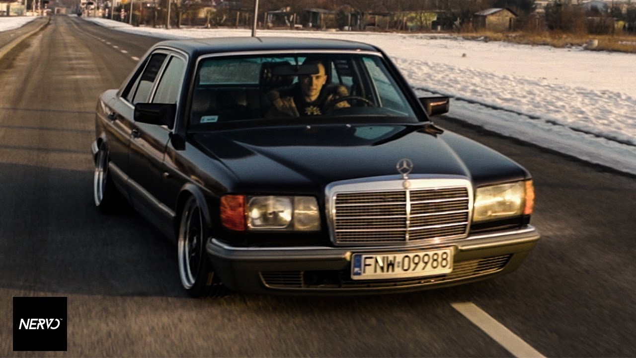 bagged mercedes w126 by magic garage youtube
