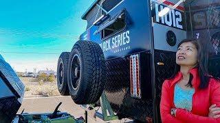2019 Black Series HQ12 and HQ17 Overland Trailer   Sand & Water Expo Lake Havasu