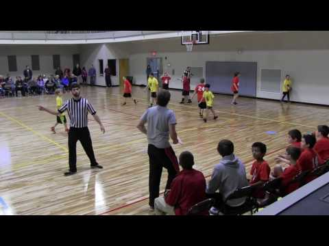 1/14/2017 - Celtics Gold vs Bonsack Red