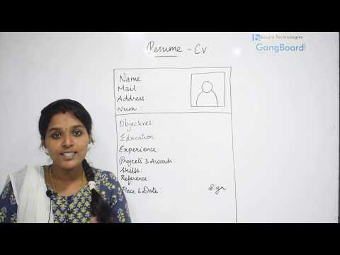 How To Prepare an Effective Good Resume in Tamil – Besant Technologies
