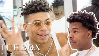 NLE Choppa Runs Into Lil Baby While Shopping For Jewelry!