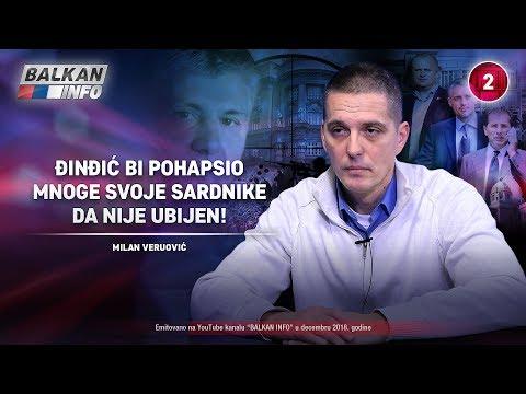 INTERVJU: Milan Veruović - Đinđić bi pohapsio mnoge svoje saradnike da nije ubijen! (21.12.2018)