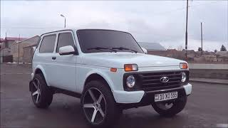 Обзор Armenian Super  Niva 4x4 Urban.