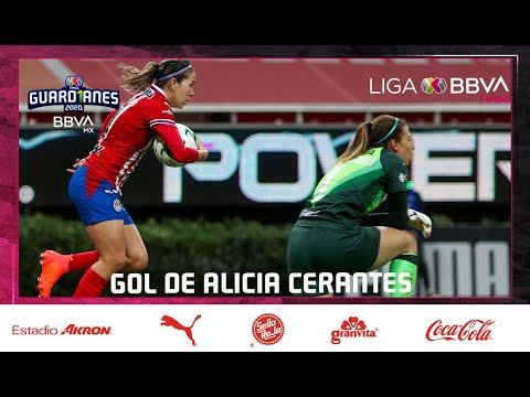 Chivas [1] - 2 Club America - Alicia Cervantes 74' (1-3 on aggregate) [Liga MX Femenil Apertura 2020 Quarter-Finals]