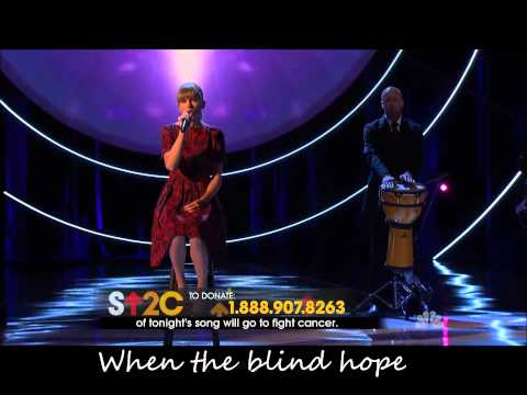 Taylor Swift-Ronan-Live at Stand Up to Cancer with lyrics