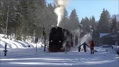 Ein Harzer Wintertraum - Die HSB im Winter (Harzer Schmalspurbahn vom 18.01.2019)