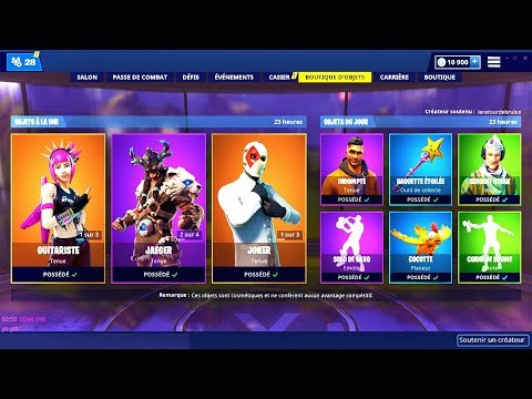 BOUTIQUE FORTNITE du 19 Mars 2019 ! ITEM SHOP March 19 2019 ! thumbnail