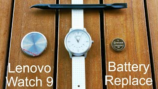 Lenovo Watch 9 How To Change The Battery