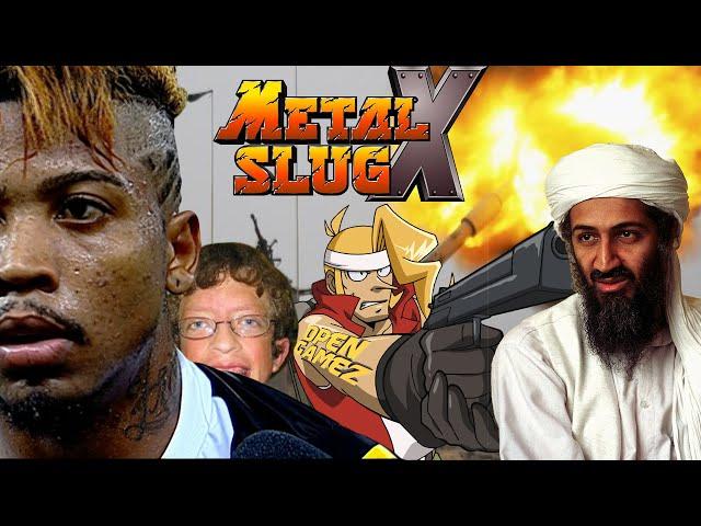 Metal Slug X - O ataque dos soldados burros