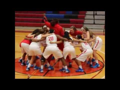 Mesa Community College ladies basketball defeating Cochise College highlight video