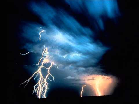 sound of thunder and lightning sound effects youtube