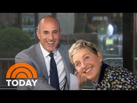 Ellen DeGeneres On Prank War With Matt Lauer, New Season  TODAY