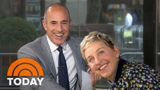 Ellen DeGeneres On Prank War With Matt Lauer, New Season | TODAY