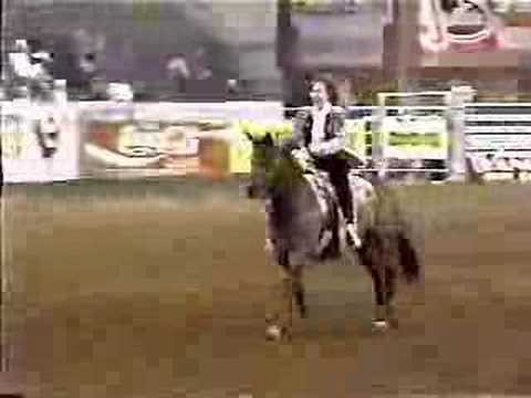 Bob Pickett - TBT Reba barrel racing!