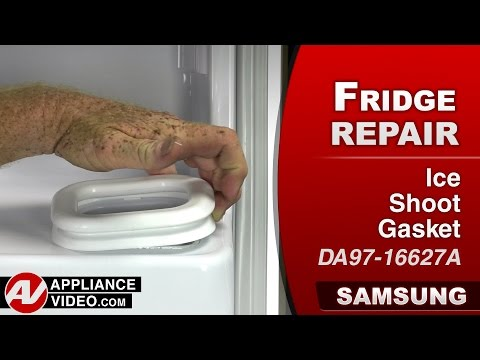 Leaking Ice Maker In Samsung French Door Refrigerator