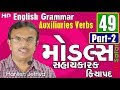Auxiliaries Verbs- Modal Part-2  English Grammar in Gujarati-49
