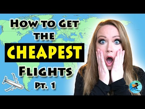 How to Get CHEAP FLIGHTS Tips | Find Discounted Tickets Online Travel Tricks & Hacks
