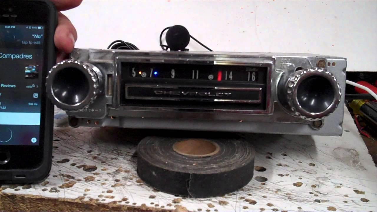 1964 65 66 c 10 chevy truck original am radio
